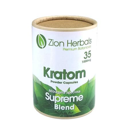 Zion Herbals 35 Cap Supreme blend
