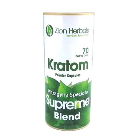 Zion Herbals 70 cap Supreme Blend