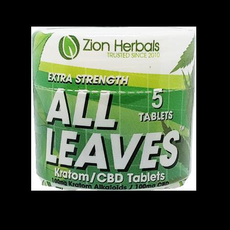Zion Herbals All Leaves jar