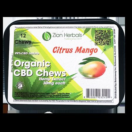 Zion herbals CBD Chews