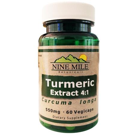 Nine Mile Botanicals 4:1 Turmeric