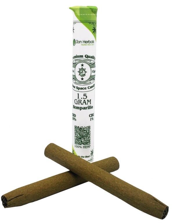 Zion Herbals Hemparillo tube